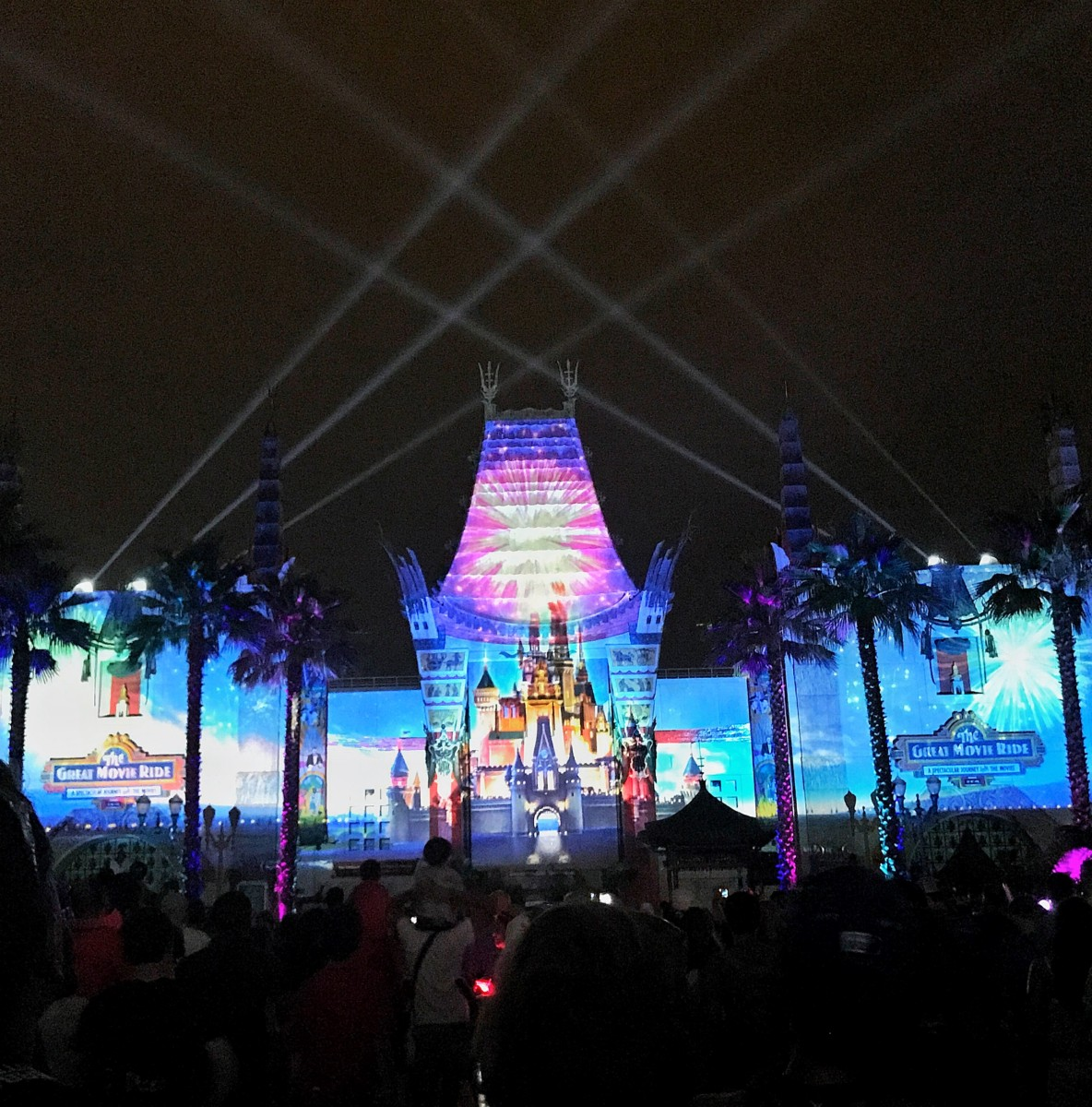"The New ""Disney Movie Magic"" Projection Show at Hollywood Studios! (video) 2"
