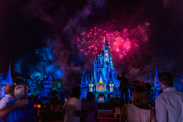 Six Must-Do New Experiences at Walt Disney World - Happily Ever After at Magic Kingdom Park