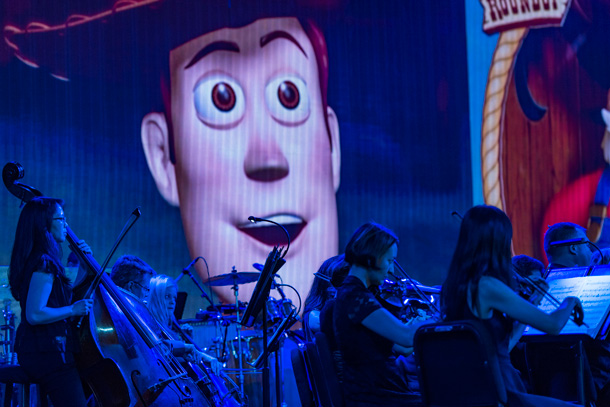 "Six Must-Do New Experiences at Walt Disney World Enjoy ""The Music of Pixar LIVE! A Symphony of Characters"" at Disney's Hollywood Studios"