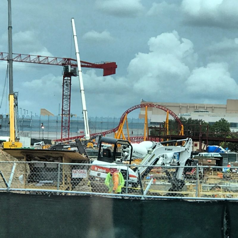Photos of Construction at Disney's Hollywood Studios 1