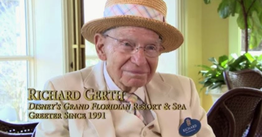 Grand Floridian Greeter Richard 1