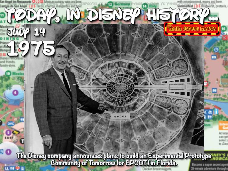 Today In Disney History ~ July 14th 2