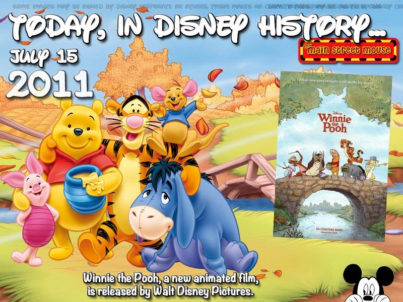 Today In Disney History ~ July 15th 1
