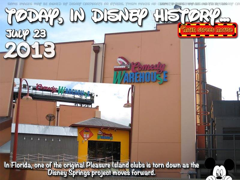 Today In Disney History ~ July 23rd 16