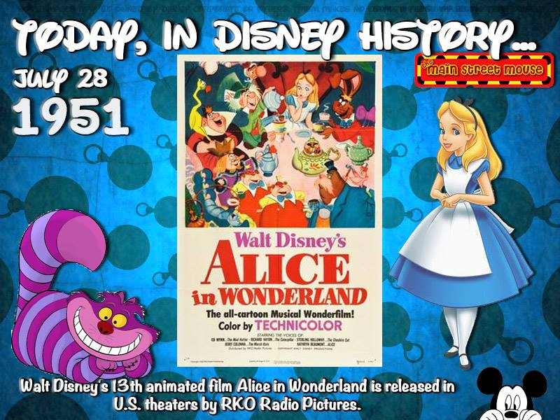 Today In Disney History ~ July 28th 2