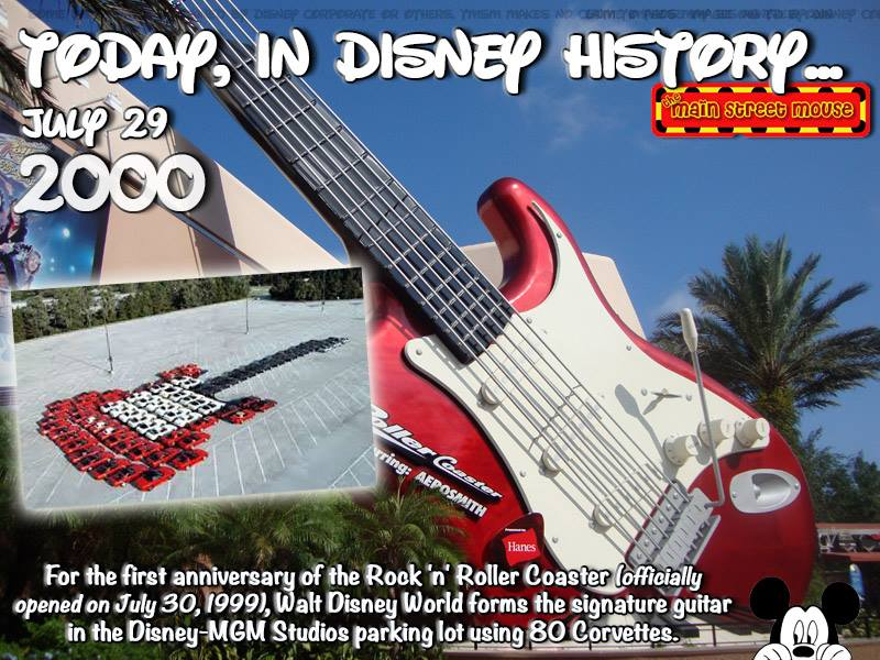 Today In Disney History ~ July 29th 5