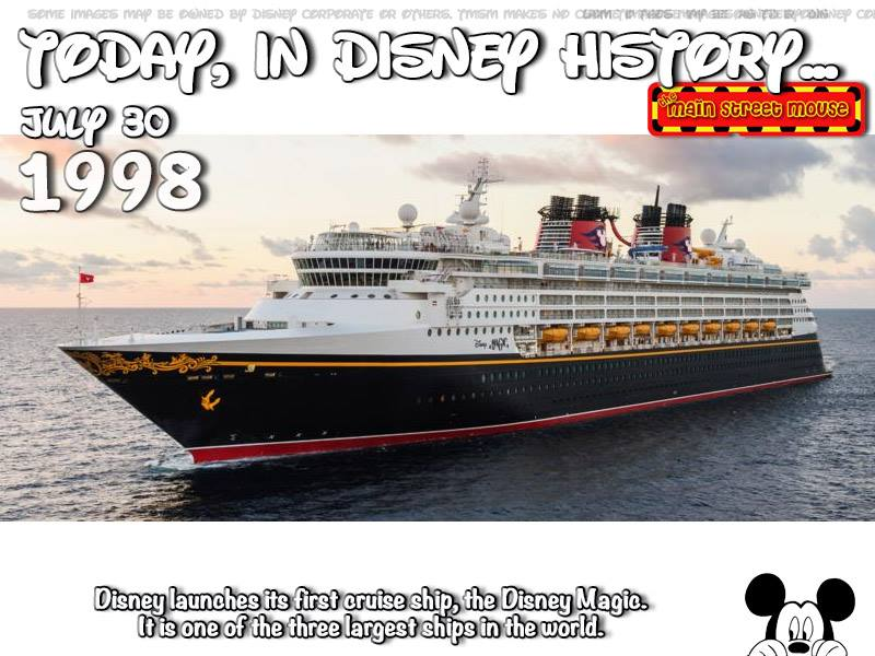 Today In Disney History ~ July 30th 3