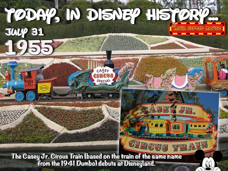 Today In Disney History ~ July 31st 1