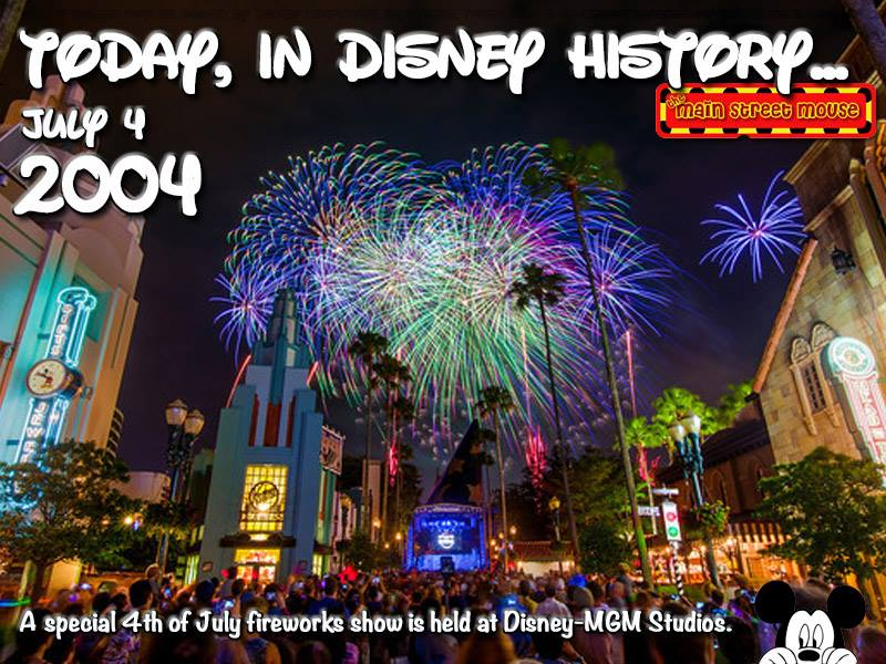 Today In Disney History ~ July 4th 4