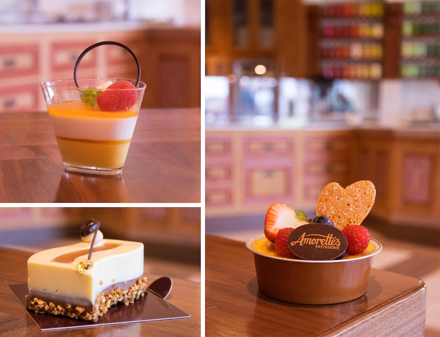 Treats from Amorette's Patisserie at Disney Springs