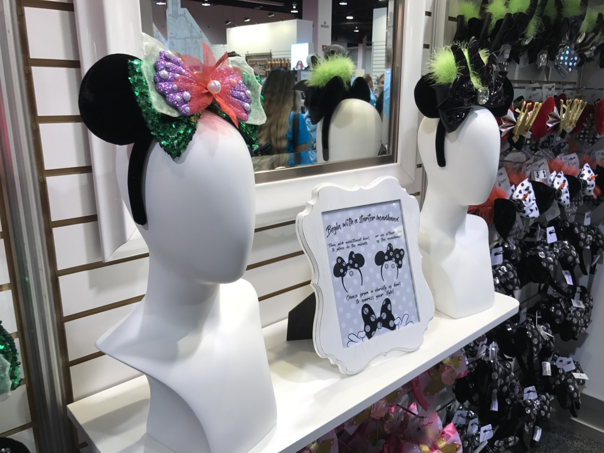 Updated Info! NEW Mouse Ears with Interchangeable Bows Coming to Disney Parks! #D23Expo 2