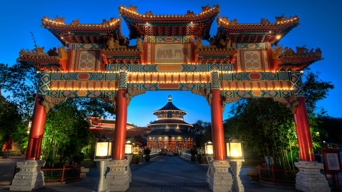 New Film at China Pavilion in Epcot will Feature New Technology 2