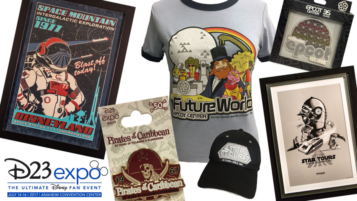 'Through the Years' Collections Will Celebrate Key Milestones at Disney Parks During D23 Expo 2017 4
