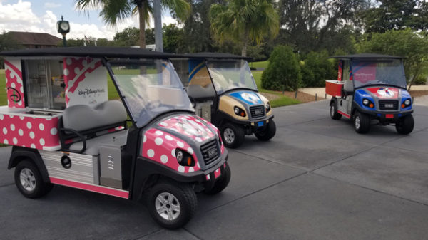 New Disney-Themed Refreshment Carts Serving Up Magic at Walt Disney World Resort Golf Courses 1