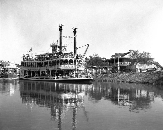 Rivers of America Through the Years at Disneyland Park 8
