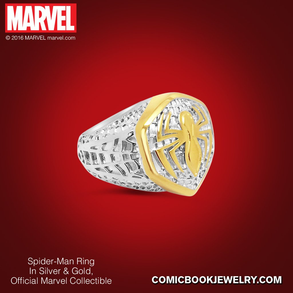 Have You Seen The Spider-Man Ring From What's Your Passion Jewelry? 1