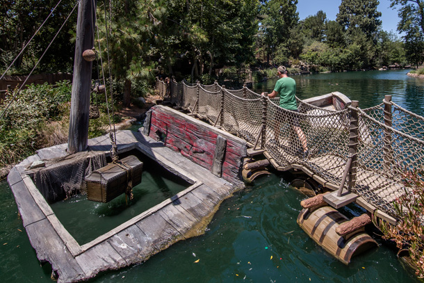 A Walk in the Park: Pirate's Lair on Tom Sawyer Island at Disneyland Park 2