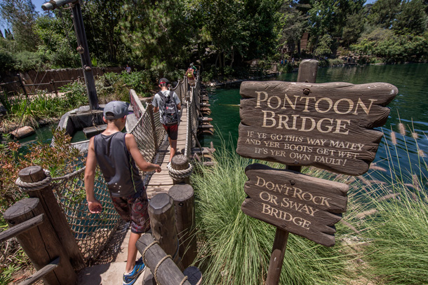 A Walk in the Park: Pirate's Lair on Tom Sawyer Island at Disneyland Park 4