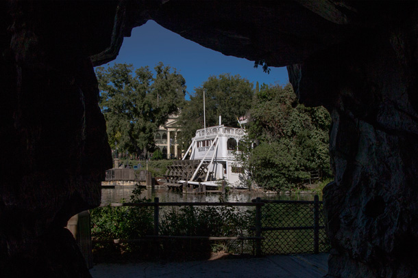 A Walk in the Park: Pirate's Lair on Tom Sawyer Island at Disneyland Park 1