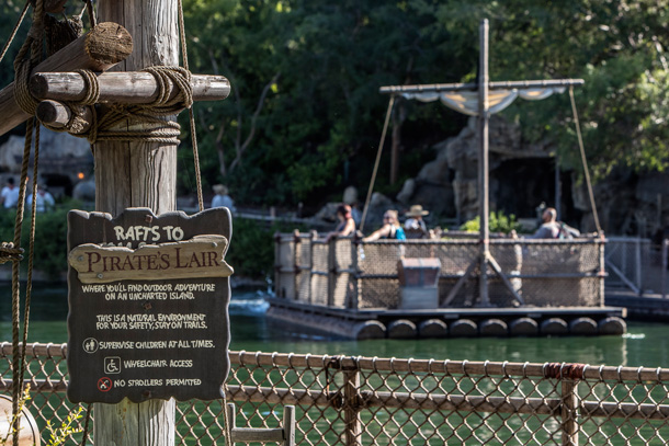 A Walk in the Park: Pirate's Lair on Tom Sawyer Island at Disneyland Park 7