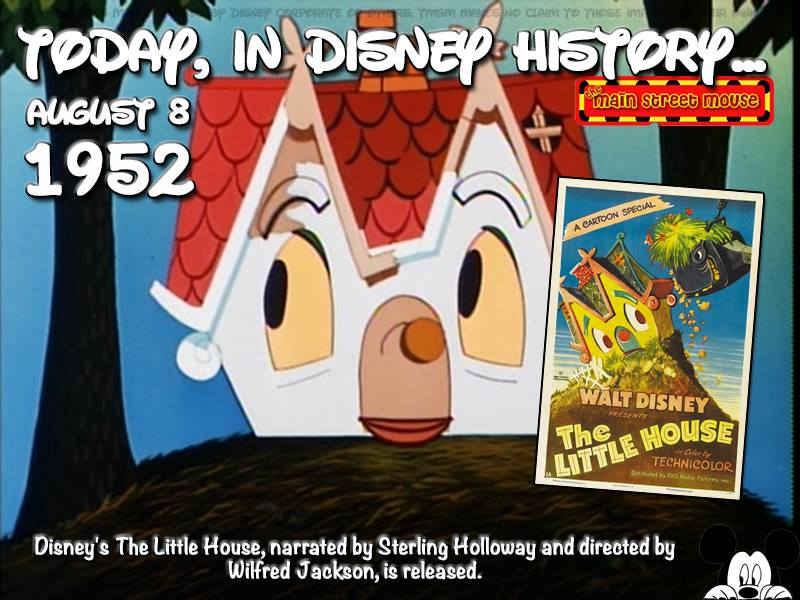 Today In Disney History ~ August 8th 1