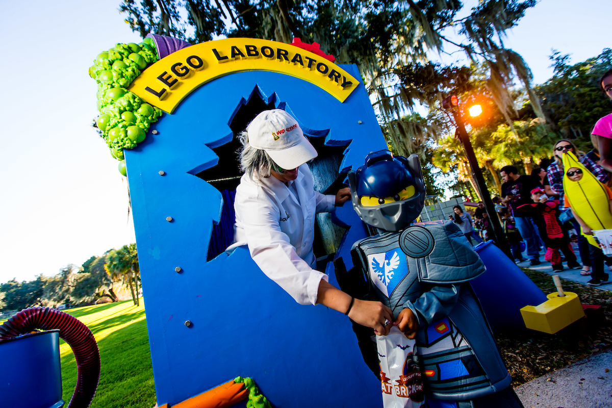 LEGOLAND® Florida Resort Features Lightly Frightful Halloween Fun for Kids as Brick or Treat Returns in October 4