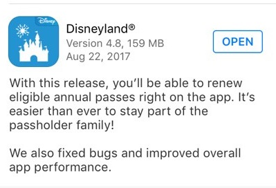 A New My Disney Experience Update Has Been Released! 4