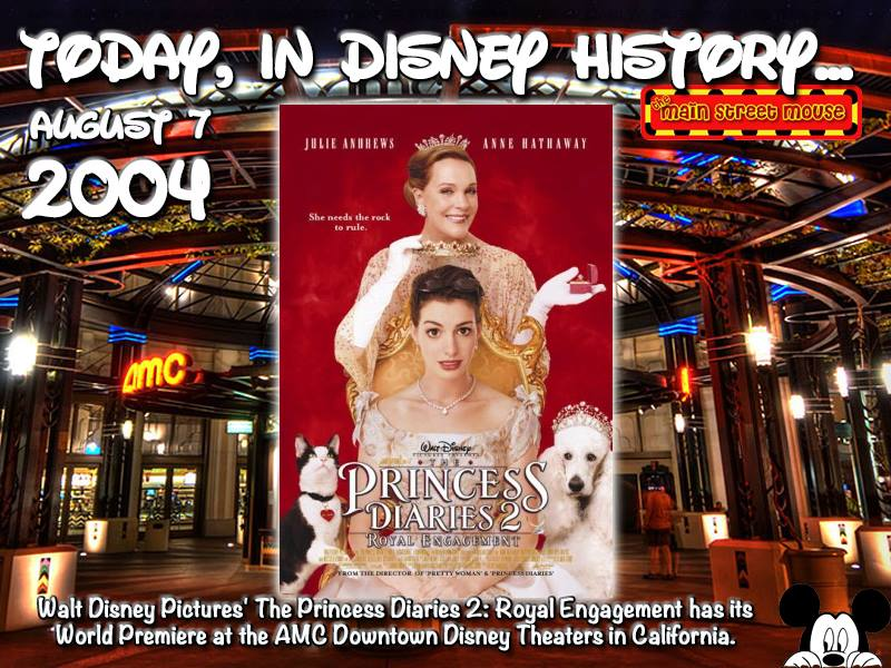 Today In Disney History ~ August 7th 10