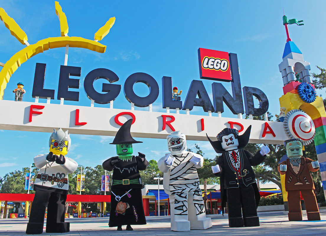 LEGOLAND® Florida Resort Features Lightly Frightful Halloween Fun for Kids as Brick or Treat Returns in October 1