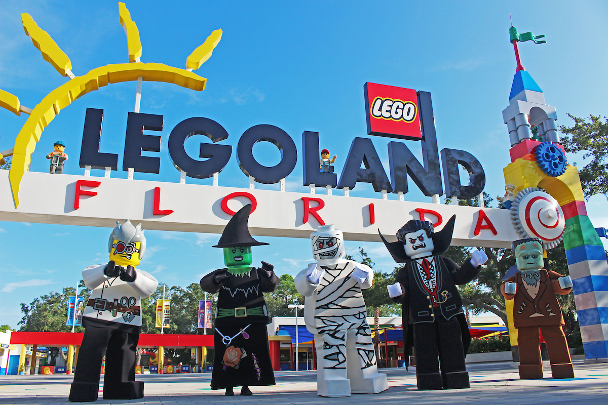 LEGOLAND® Florida Resort Features Lightly Frightful Halloween Fun for Kids as Brick or Treat Returns in October 10