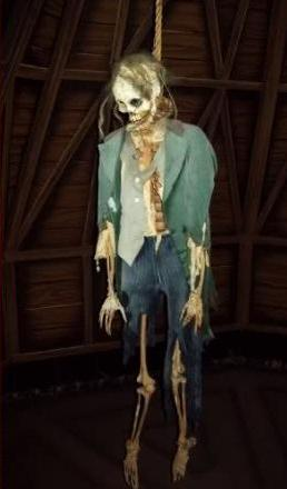 Hanging Around The Haunted Mansion 3