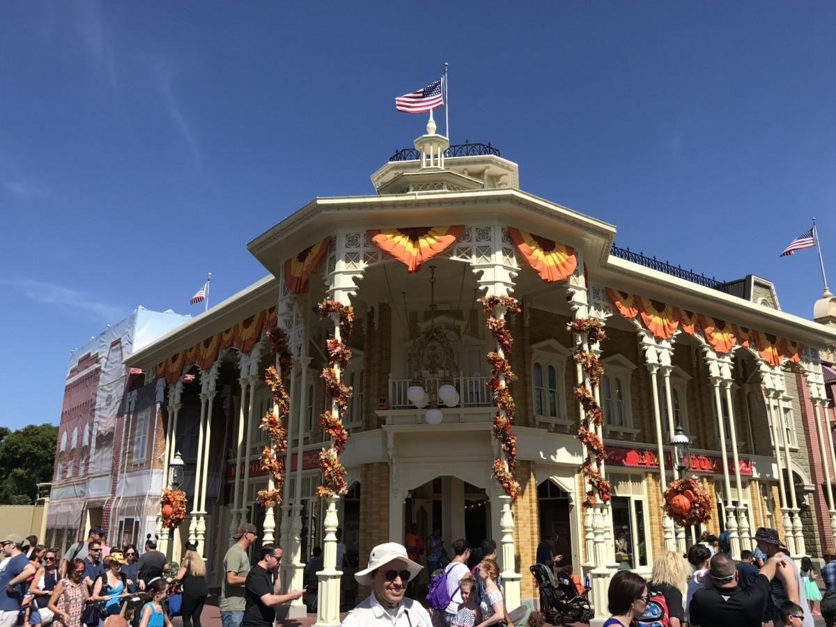 Halloween Decor at Disney's Magic Kingdom, See Pics Below #Halloween 2