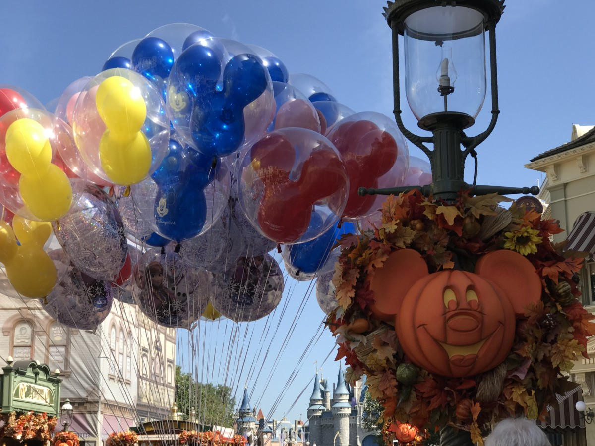 Halloween Decor at Disney's Magic Kingdom, See Pics Below #Halloween 1