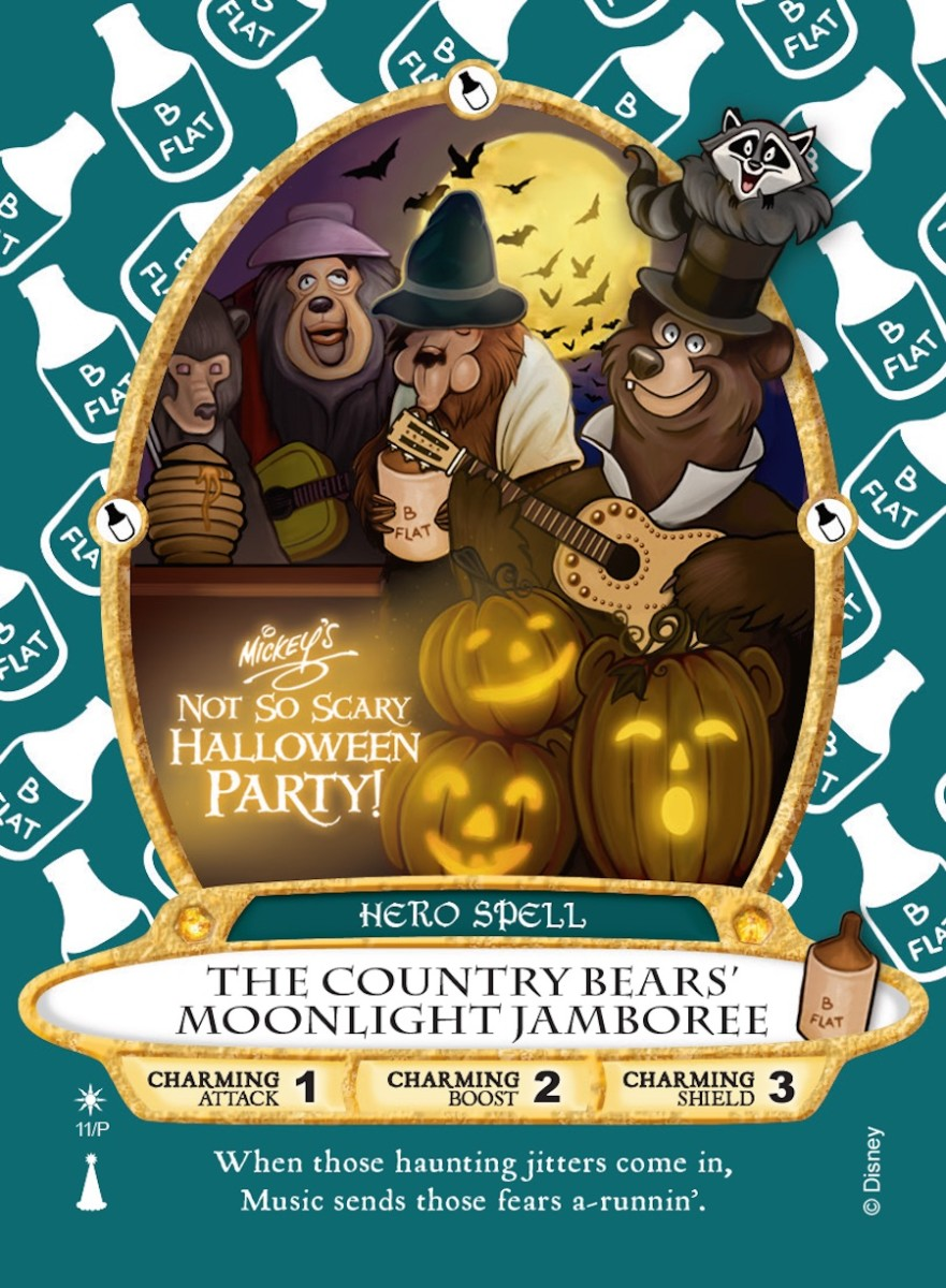 'Country Bear' Sorcerers of the Magic Kingdom Card to Be Released at Mickey's Not-So-Scary Halloween Party 2