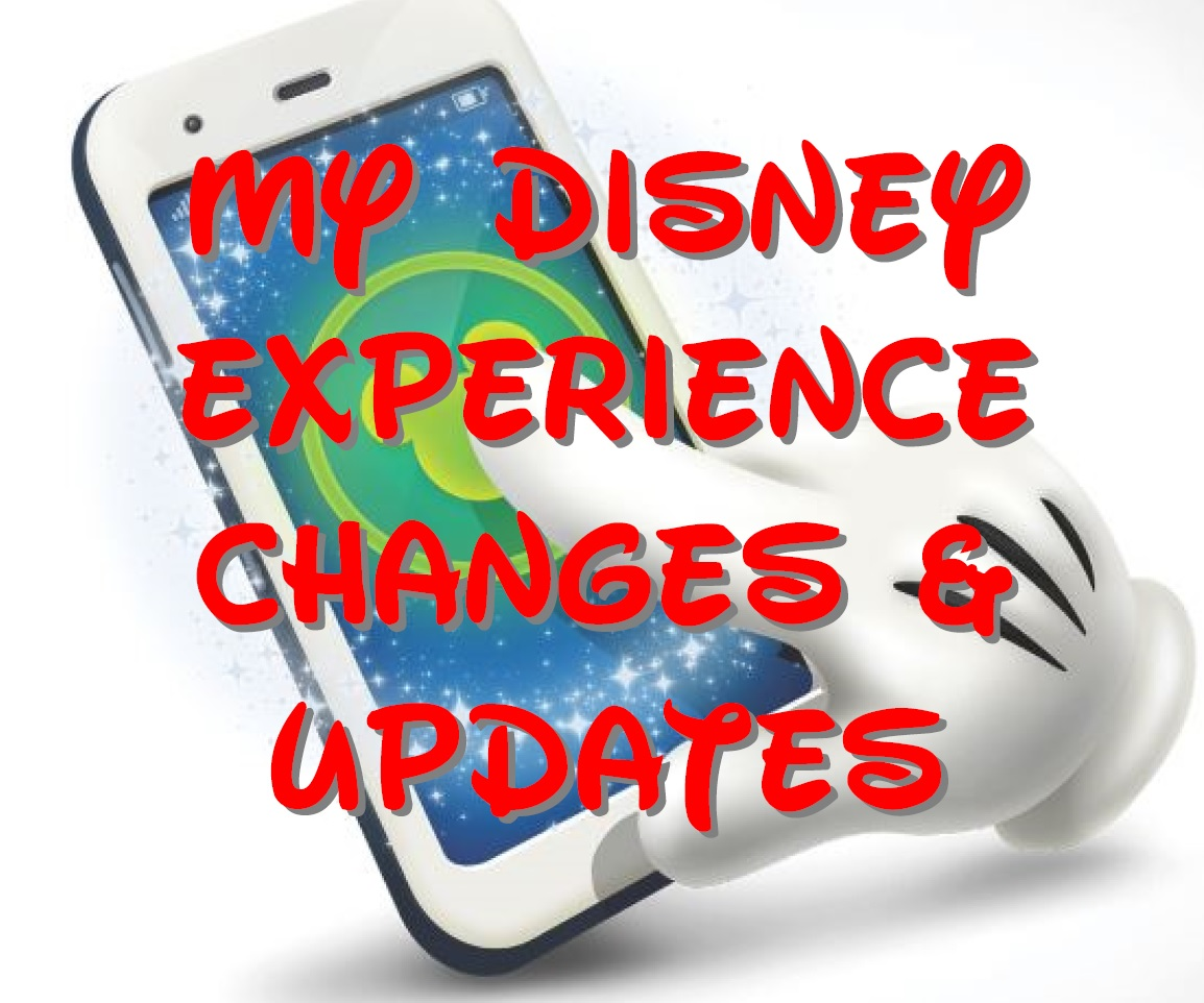 A New My Disney Experience Update Has Been Released! 1
