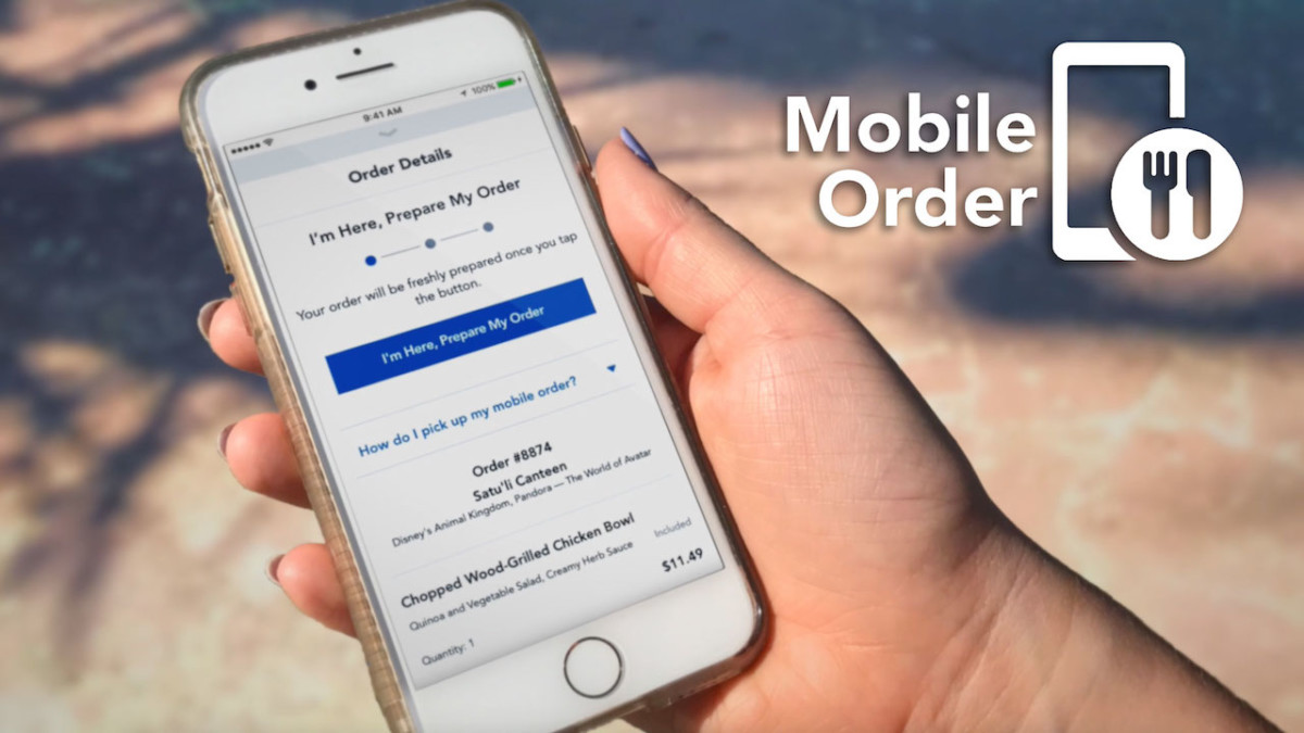 Mobile Order Service Now Available at Additional Disney Resort Hotel Food & Beverage Locations 1