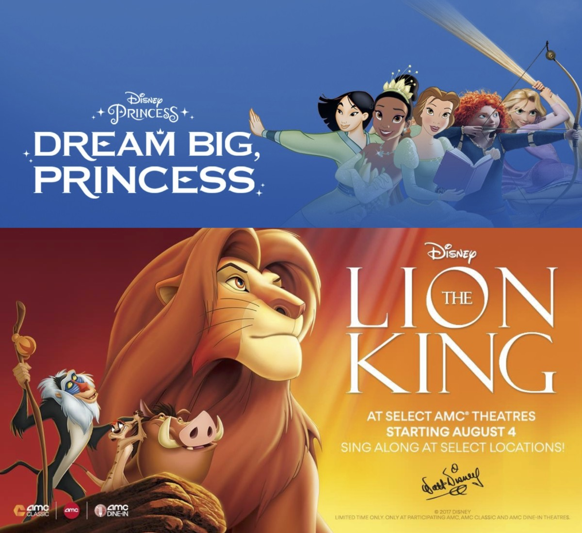 TMSM Explains: Why Disney Princess And Lion King Fans Need to Go to AMC Theaters! 1