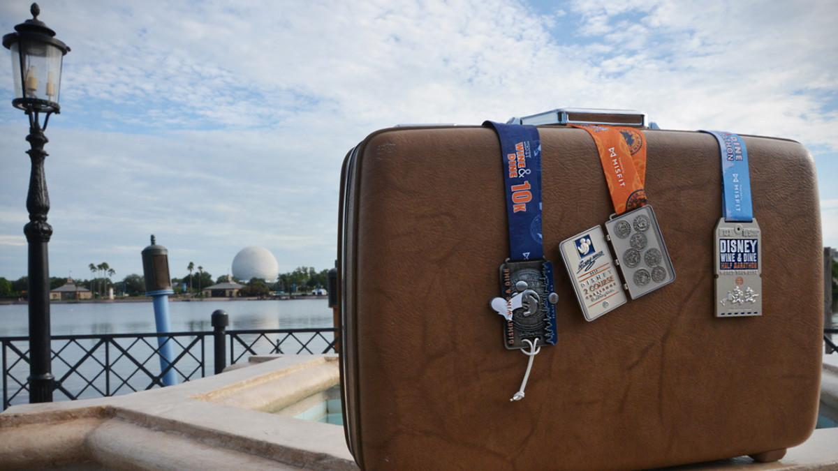 Travel Around the World with the runDisney Wine & Dine Half Marathon Weekend Medals 1