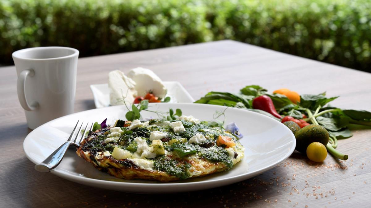 Recipe: Egg White Vegetable Frittata with Macadamia Nut Pesto at Aulani, a Disney Resort & Spa 2