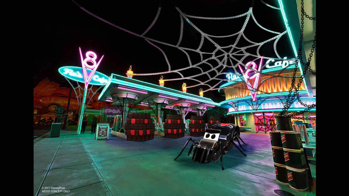 Cars Land and Buena Vista Street to Get Spooky as Halloween Time at the Disneyland Resort Expands to Disney California Adventure Park 3