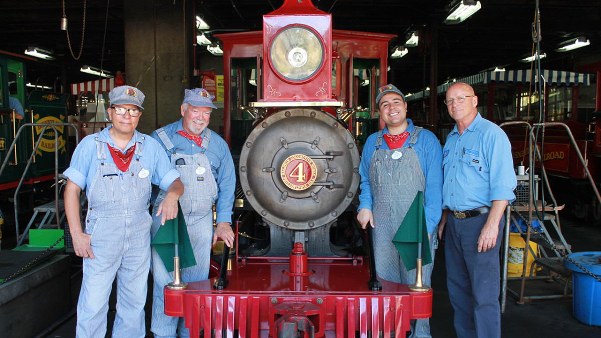 Disneyland Railroad Engineers Share Excitement for Return of Classic Attraction 3