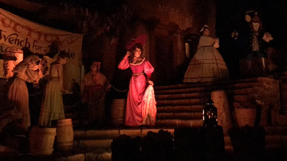 Ride Pirates of the Caribbean at Disneyland! 1
