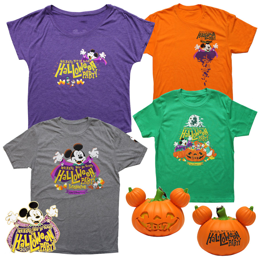 Mickey's Not-So-Scary Halloween Party Merchandise
