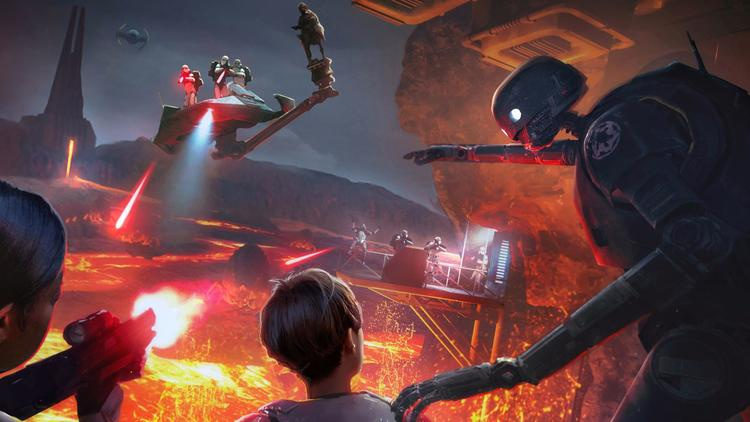 New immersive 'Star Wars' experience set for Disney Springs 2