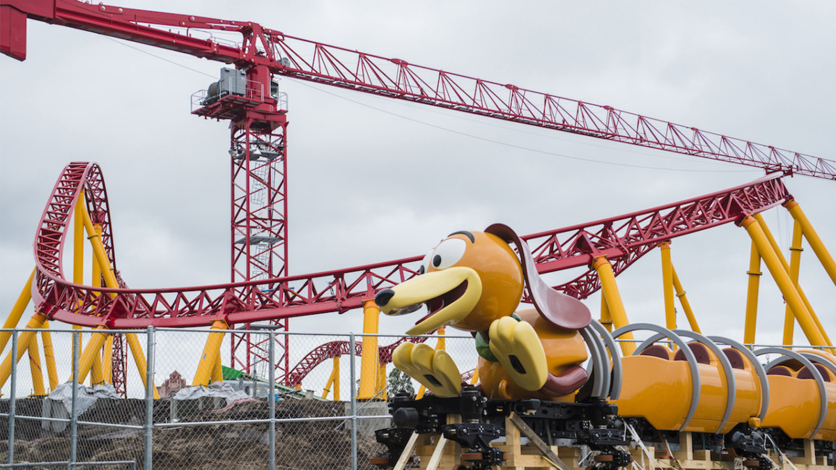 First Look: Slinky Dog Dash Ride Vehicle Arrives At Disney's Hollywood Studios 2
