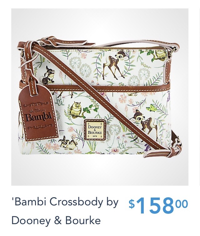 NEW Bambi Disney Dooney and Bourke Handbags are Available Today! 5
