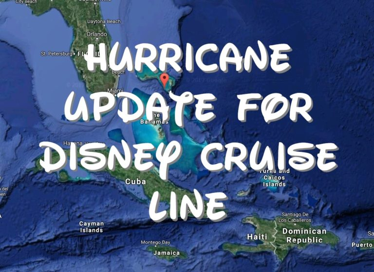 The Latest Hurricane Irma Update from Disney Cruise Line (9/8) 1