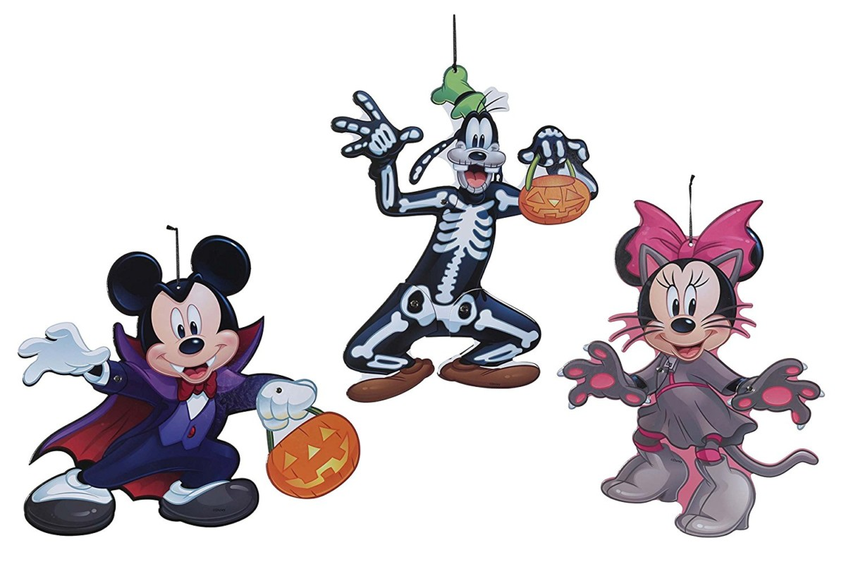 Disney halloween decor for your home the main street mouse for Disney halloween home decorations