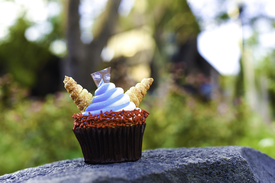 Viking Cupcake at Norway Pavilion at the International Food & Wine Festival at Walt Disney World Resort