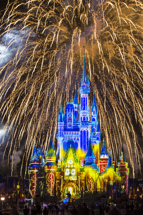 Happily Ever After at Magic Kingdom Park